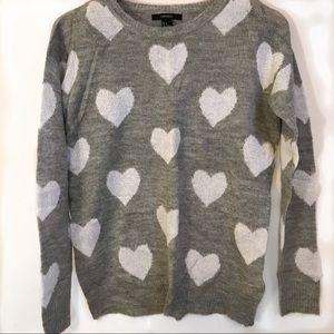 Forever 21 Heart Sweater